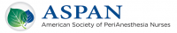 American Society of PeriAnesthesia Nurses (ASPAN) National Conference 2019