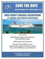 Dade County Medical Association CME Cruise Conference (Dec 28, 2017 - Jan 0
