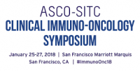 American Society of Clinical Oncology (ASCO) - Society for Immunotherapy of