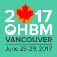 Organization for Human Brain Mapping (OHBM) Annual Meeting 2017