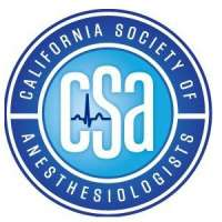 California Society of Anesthesiologists (CSA) 2020 Fall Anesthesia Meeting