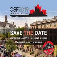 2019 Canadian Surgery Forum (CSF)