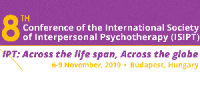 8th Biennial Congress of the International Society of Interpersonal Psychotherapy (ISIPT)