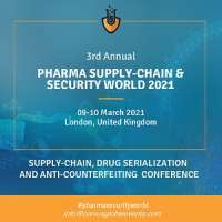 3rd Annual Pharma Supply-Chain & Security World 2021