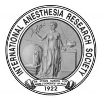 International Anesthesia Research Society (IARS) Annual Meeting 2016