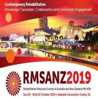 2019 Rehabilitation Medicine Society of Australia and New Zealand (RMSANZ)