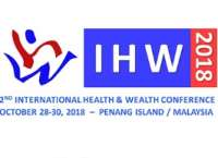 2nd International Health and Wealth (IHW) Conference