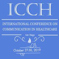 International Conference on Communication in Healthcare (ICCH) 2019