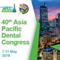 40th Asia Pacific Dental Congress (APDC) & 109th Philippine Dental Association (PDA) Annual Convention & Scientific Meeting