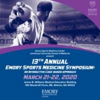 13th Annual Emory Sports Medicine Symposium : An Interactive Approach