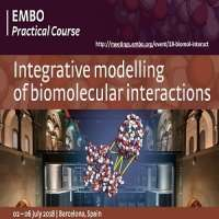 Integrative modelling of biomolecular interactions 2018
