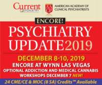 CP/AACP Psychiatry Update Encore Presentation 2019