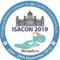 ISACON-2019 : 67th Annual Conference of Indian Society of Anaesthesiologist