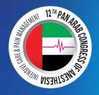12th Pan Arab Congress of Anesthesia, Intensive Care and Pain Management