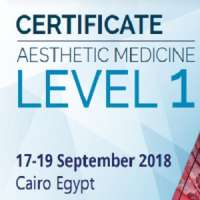 Level 1: Certificate Course in Aesthetic Medicine (Sep 17 - 19, 2018)