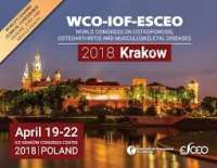 WCO-IOF-ESCEO Krakow 2018 | World Congress on Osteoporosis, Osteoarthritis and Musculoskeletal Diseases