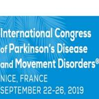 International Congress of Parkinson's Disease and Movement Disorders® 2019