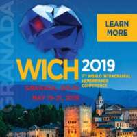 7th World IntraCranial Hemorrhage Conference (WICH 2019)