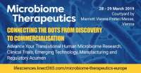 Microbiome Therapeutics Europe 2019