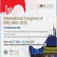International Congress of ORL-HNS 2020 (ICORL 2020) in conjunction with 94t