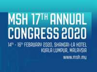 Malaysian Society of Hypertension (MSH) 17th Annual Congress 2020