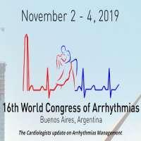 16th World Congress of Arrhythmias (WSA 2019)