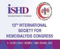 13th Congress of the International Society for Hemodialysis (ISHD)