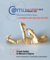 26th Aquitaine Conference of Emergency Medicine Traumatology