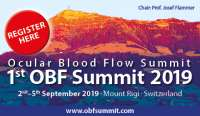 1st Ocular Blood Flow (OBF) Summit 2019