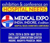 6th Medical Expo India, Indore 2019, Brilliant Convention