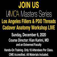 LAMCA Masters Series Fillers & PDO Threads Cadaver Anatomy Workshop Live