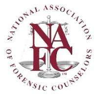 National Association of Forensic Counselors (NAFC) 2018 Annual conference