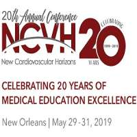 New Cardiovascular Horizons 20th Annual Conference 2019