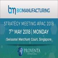 Biomanufacturing Strategy Meeting APAC 2018