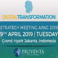 Digital Transformation Strategy Meeting 2019 in Indonesia