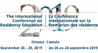 The 2019 International Conference on Residency Education (ICRE2019)
