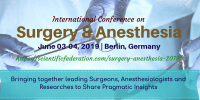 3rd World Congress on Surgery and Anesthesia
