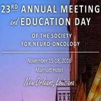 23rd Annual Scientific Meeting and Education Day of the Society for Neuro-O