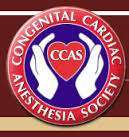 Congenital Cardiac Anesthesia Society (CCAS) 12th Annual Meeting