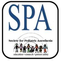 Society for Pediatric Anesthesia (SPA) - American Academy of Pediatrics (AA