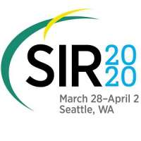 Society of Interventional Radiology (SIR) 2020 Annual Scientific Meeting