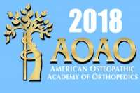 2018 American Osteopathic Academy of Orthopedics (AOAO) Annual Meeting