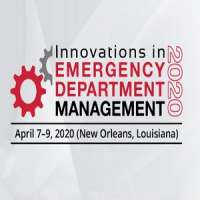 Innovations in Emergency Department (ED) Management 2020