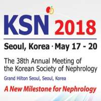 KSN 2018 : The 38th Annual Meeting of the Korean Society of Nephrology