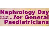 Nephrology Day for General Paediatricians 2018