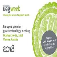26th United European Gastroenterology (UEG) Week Vienna 2018