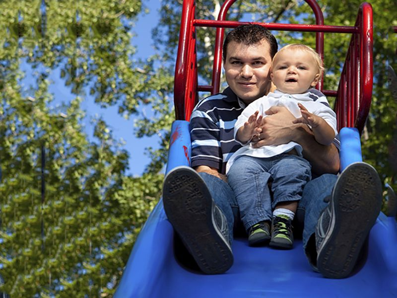 AAP: Sliding on Lap Linked to Leg Fracture for Young Children