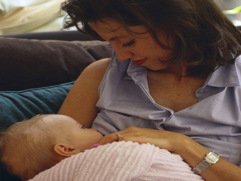 CDC: Most Babies Born in 2015 Started Out Breastfeeding