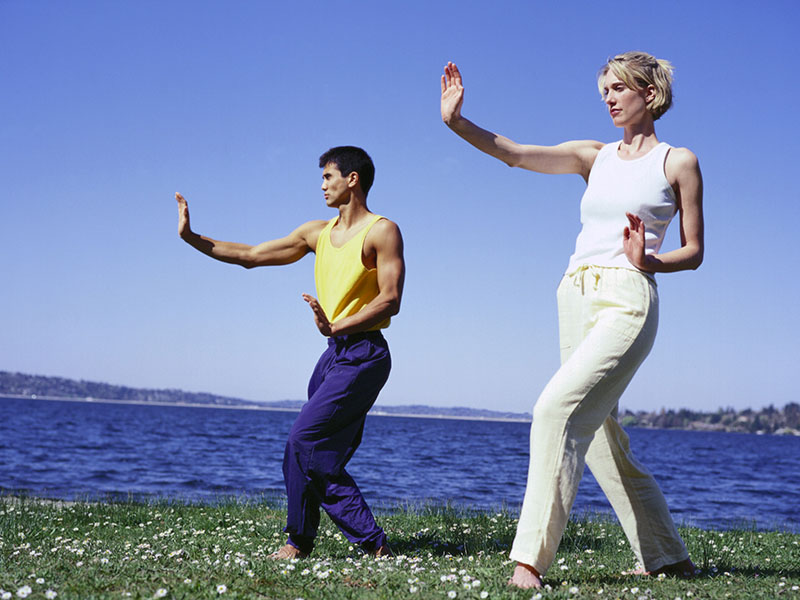 Six-Month Tai Chi Program Improves Physical Activity in CHD