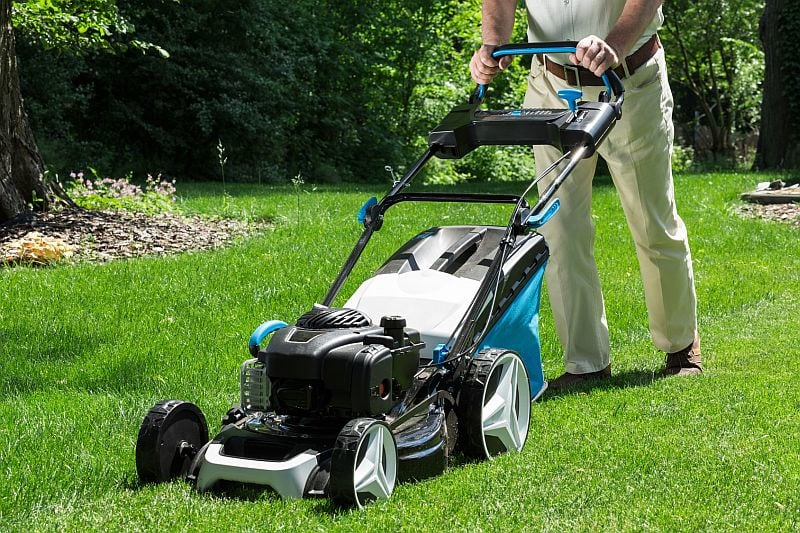 Lawn-Mower-Related Injuries Are Most Often Lacerations